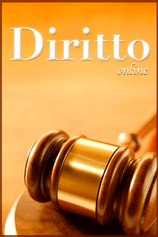 Diritto Online - Welcome Screen